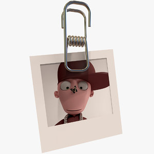 little peg photo 3d model
