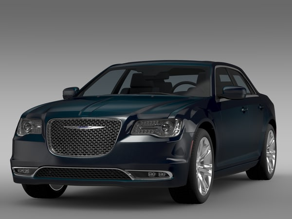 3d chrysler 300 c lx2 model