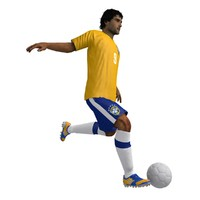 Soccer Player Rigged Animated
