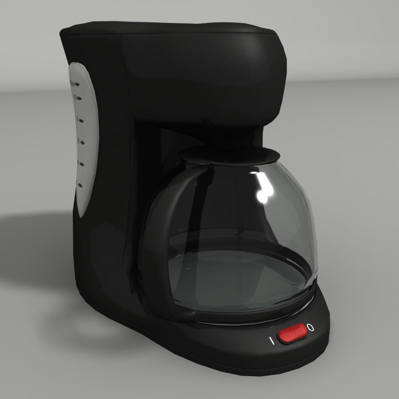 3d model coffe maker