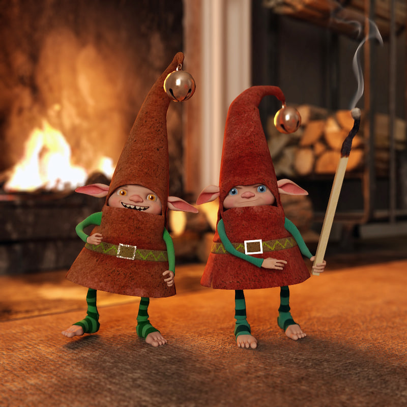 3d model gnome match