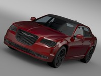 3d model chrysler 300s lx2 2016