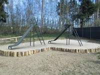 playground slide 3d obj