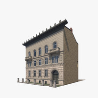 building city berlin luetzowplatz 3d model