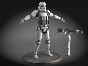 star wars heavy 3d c4d