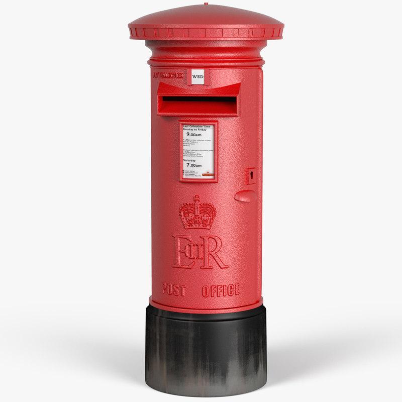 royal mail post box max