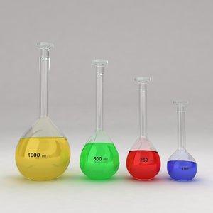 volumetric flask fbx