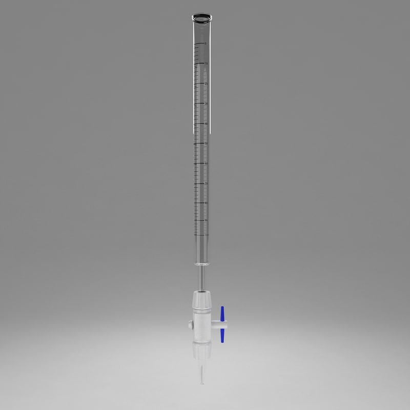 3d burette titration method