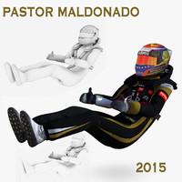 pastor maldonado 2015 1 3d 3ds