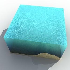 3d model ocean