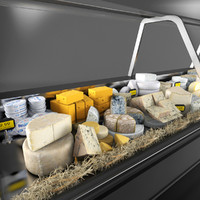 Cheese Deli Case