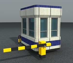 3d car parking booth