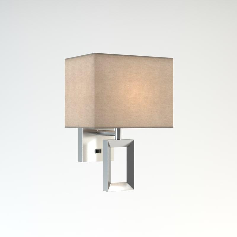 wall lamp odeon light 3d model