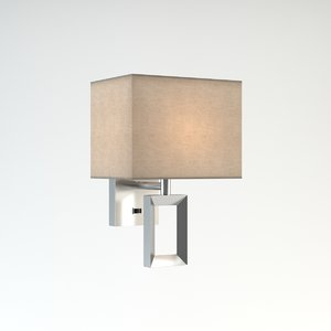 wall lamp odeon light 3d model