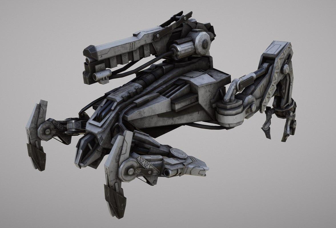 3d model mechhound