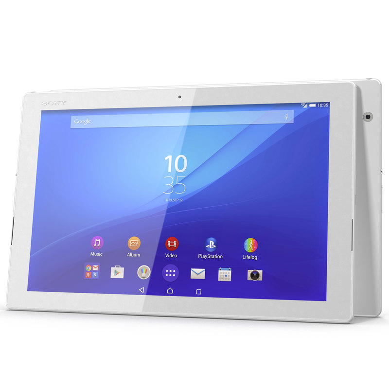 sony xperia z4 tablet 3d model