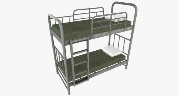 3d military bunk