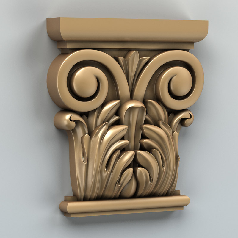 max carved column capital