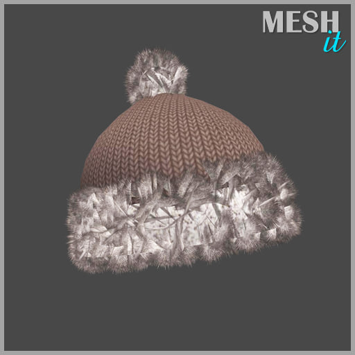 hat winter obj free