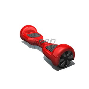 3dsmax hoverboard safely
