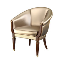 3d 3ds realistic turri mirby chair