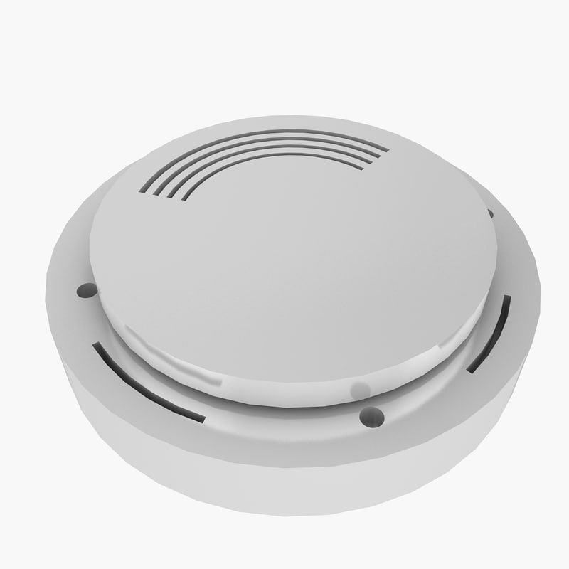 smoke detector 3d 3ds
