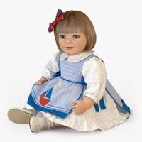 3dsmax m01 doll