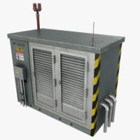 Electronics Shelter 01