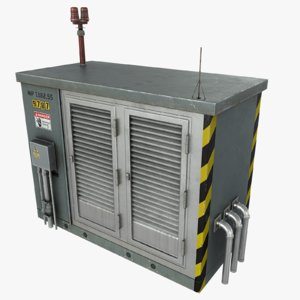 electronics shelter 3d max