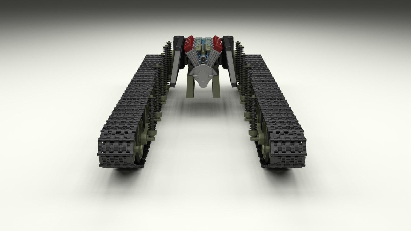 t34 tank drivetrain t fbx