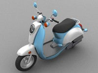 3d scooter model