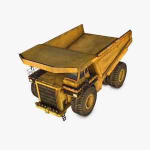 haul truck c4d