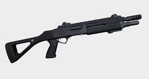 3d shotgun fabarm stf12 compact model