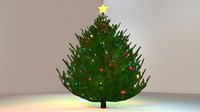 3d model tree ornaments