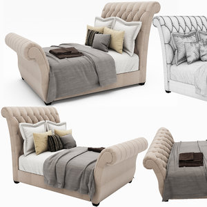 maya waverly taupe king upholstered