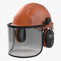 Safety Helmet 2 Orange
