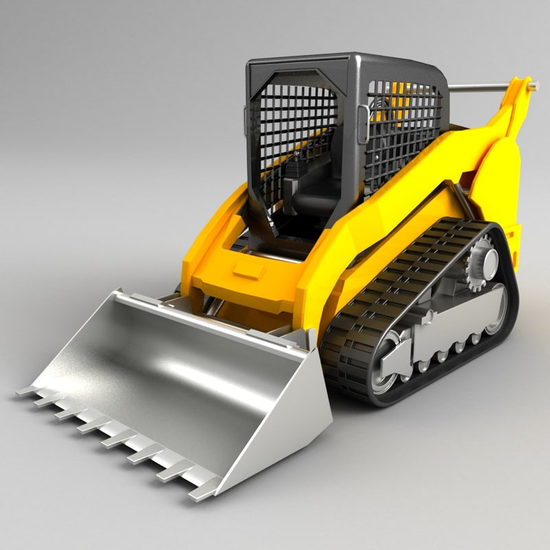 3d multi terrain loader