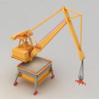 harbor crane max