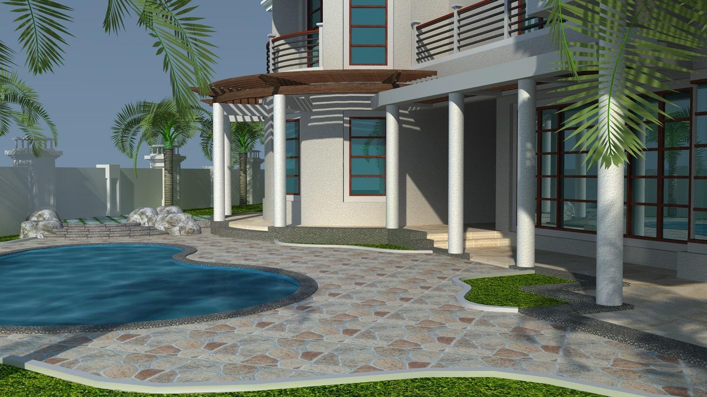 3d home house
