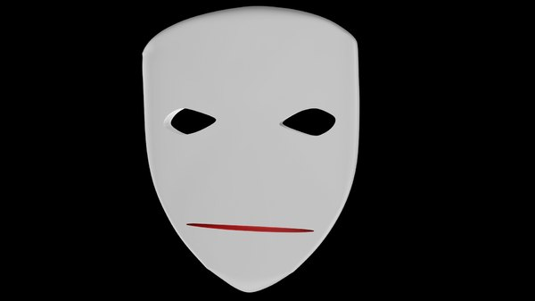 mask theaters puppet 3d model