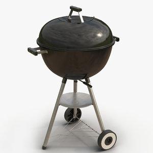 3d model grill 2