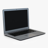 3d model generic laptop 7
