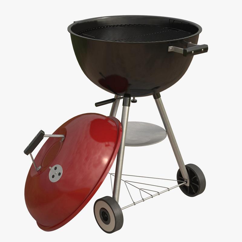 grill 3 3d model