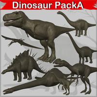 dinosaur apatosaurus isanosaurus 3d model