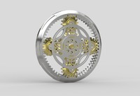 planetary gears 3d 3ds