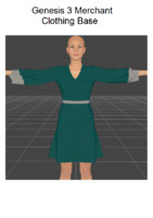 3d 3ds dress