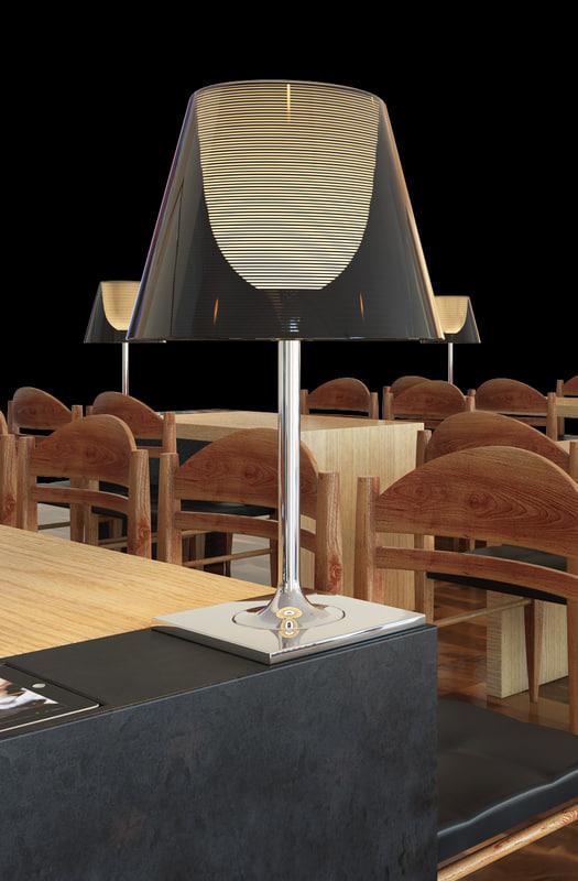 3d lamp ktribe flos