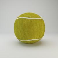 tennis ball 3d max