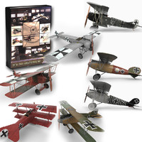 Central Powers Aircraft of World War I Collection