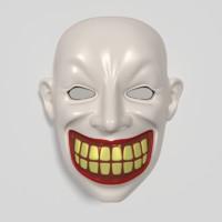 mask 3d fbx